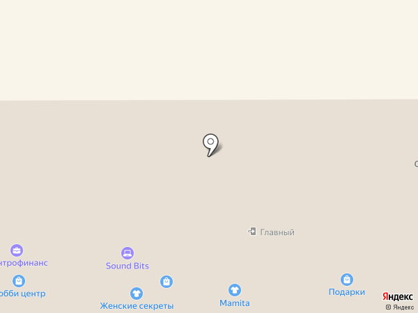 Mamita на карте Тобольска