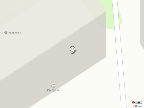Гарант на карте Тобольска