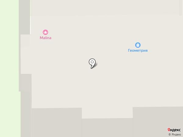 На Арбате на карте Тобольска