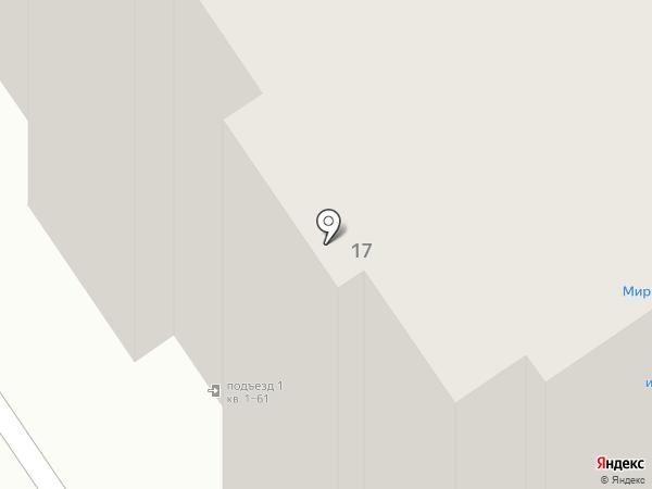 ВиС на карте Тобольска