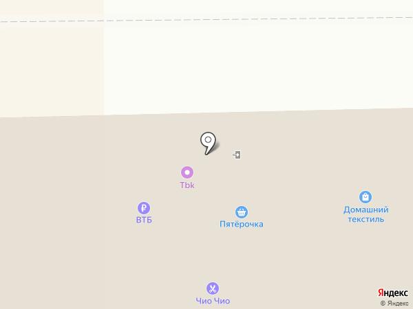 Пятерочка на карте Тобольска