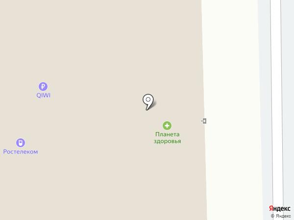 Планета Здоровья на карте Тобольска