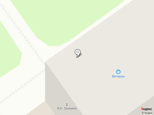 Ветеран на карте Тобольска