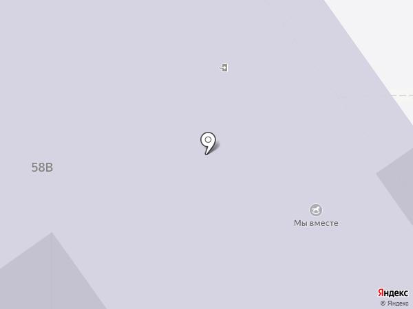 Тобольск–ПОЛИТЕХ на карте Тобольска