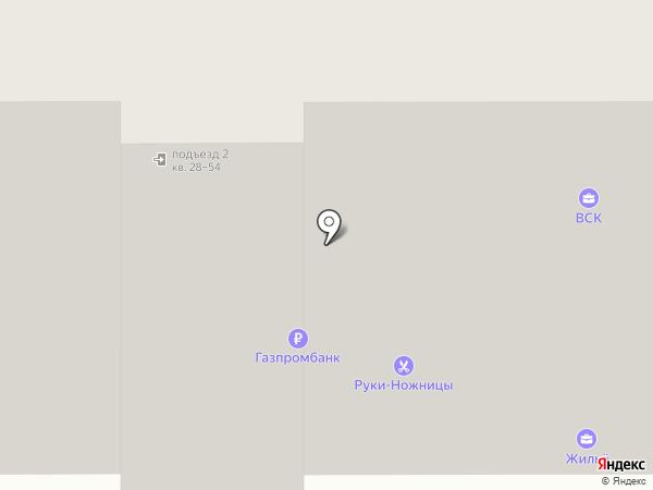 ВСК на карте Тобольска