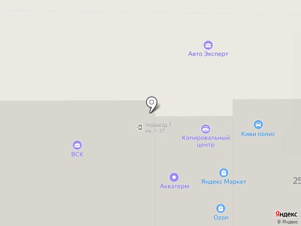 АКВАТЕРМ на карте Тобольска