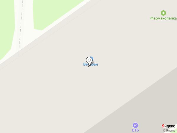 Буратино на карте Тобольска