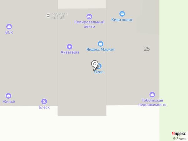 Центр Аудит на карте Тобольска