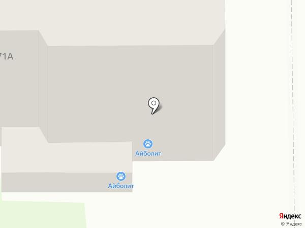 Айболит на карте Тобольска