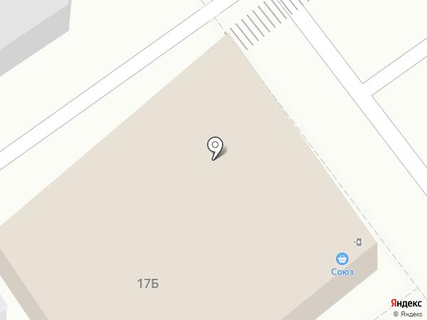Союз на карте Тобольска