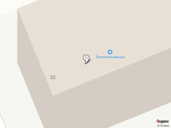 Промэкскавация на карте Тобольска