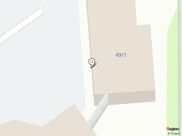 Леший на карте Тобольска
