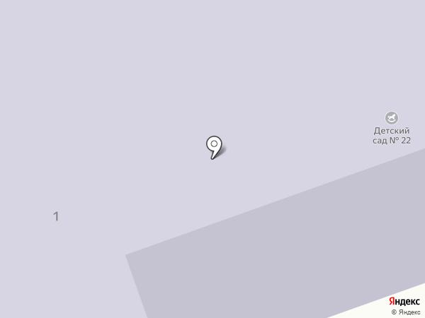 Детский сад №22 на карте Тобольска