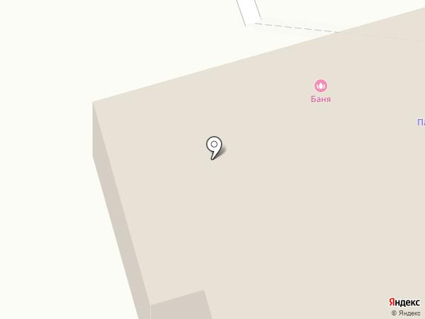 Баня на карте Тобольска