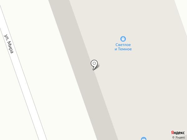 Лидия на карте Тобольска