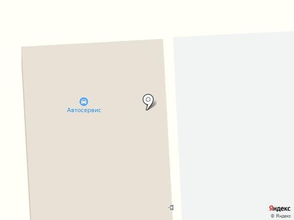 Маяк на карте Тобольска