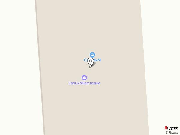 Тоболпромресурс на карте Тобольска
