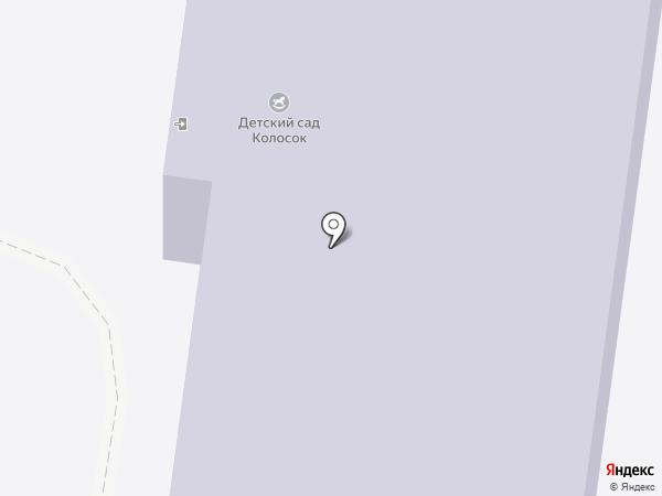 Колосок на карте Абалака