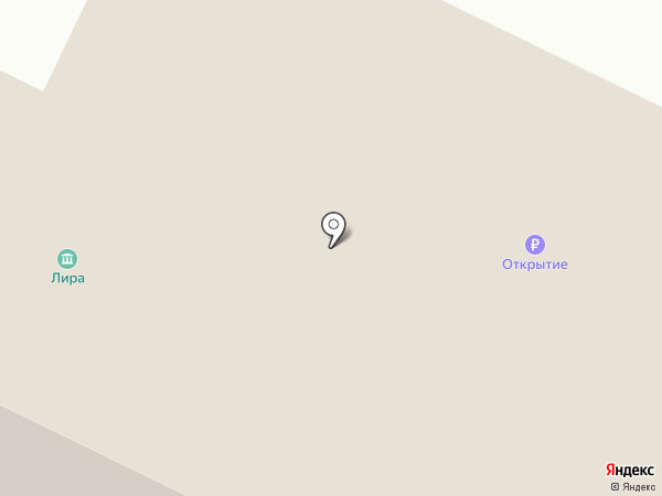 Анкор на карте Нефтеюганска