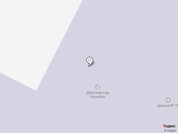 Детский сад №12 на карте Нефтеюганска