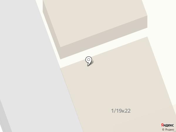 Хас-Вегас на карте Нефтеюганска