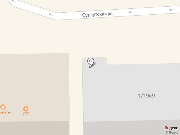 Мужская парикмахерская на карте Нефтеюганска
