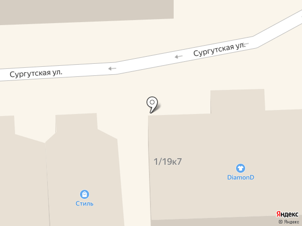 DiamonD на карте Нефтеюганска