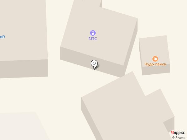 МегаФон на карте Нефтеюганска