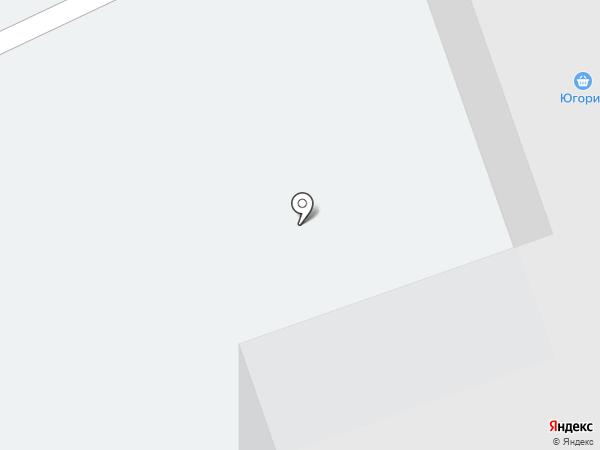Карапуз на карте Нефтеюганска