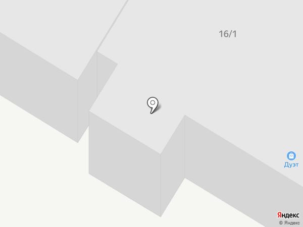 Союз на карте Нефтеюганска