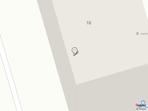 Ермолино на карте Нефтеюганска