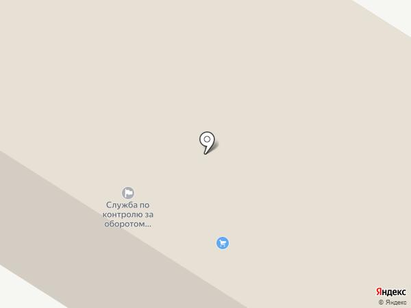 Отдел ГИБДД Отделения МВД Нефтеюганского района на карте Нефтеюганска