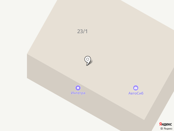 Автосиб на карте Нефтеюганска