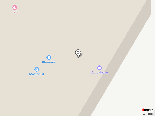 Вариант на карте Нефтеюганска