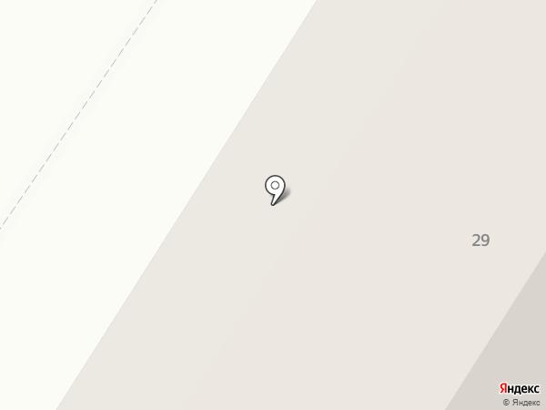 Вертуаль на карте Нефтеюганска