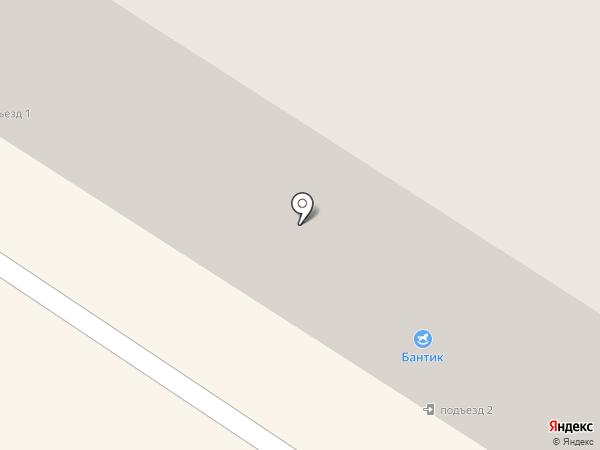 Ювелирный на карте Нефтеюганска