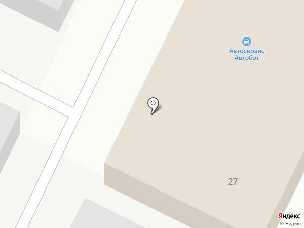 Автодом на карте Нефтеюганска
