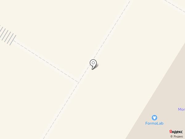 Прищепка+ на карте Нефтеюганска