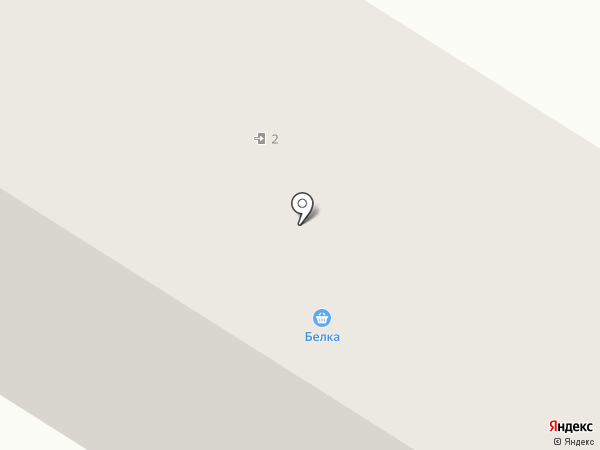 Русалочка на карте Нефтеюганска