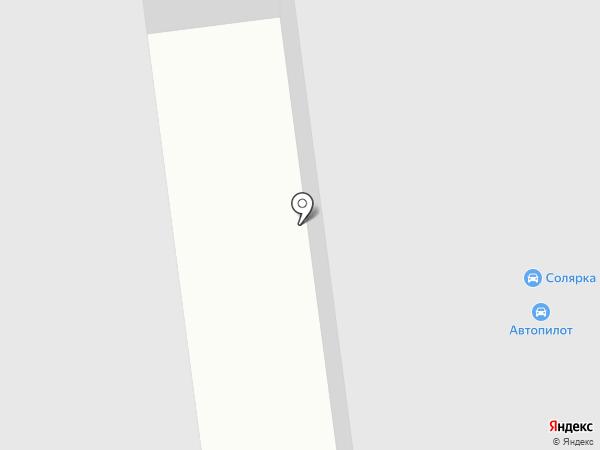 Технопарк-Авто на карте Нефтеюганска