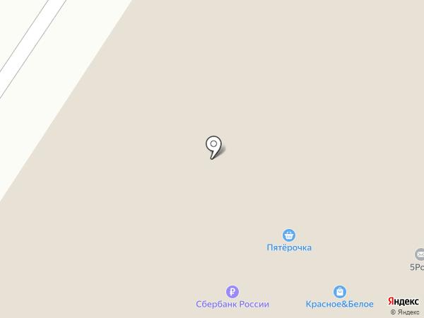 Пятерочка на карте Нефтеюганска