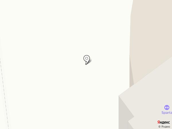 Глиссада на карте Нефтеюганска