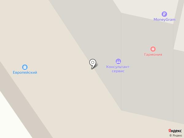 Метросеть-Нефтеюганск на карте Нефтеюганска