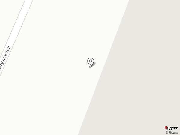 Южный на карте Нефтеюганска