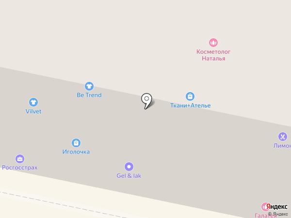 Ledi Glamour на карте Нефтеюганска
