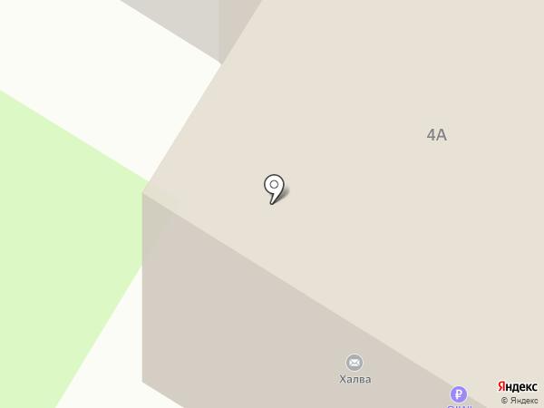 Комета на карте Нефтеюганска
