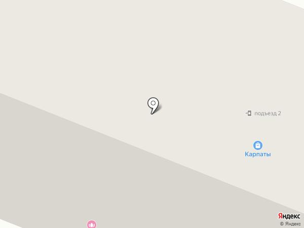 Апельсин на карте Нефтеюганска