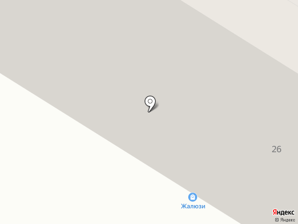 Магазин жалюзи на карте Нефтеюганска