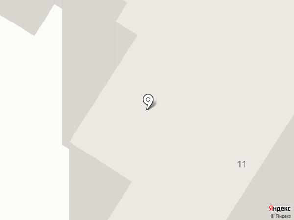 Какаду на карте Нефтеюганска