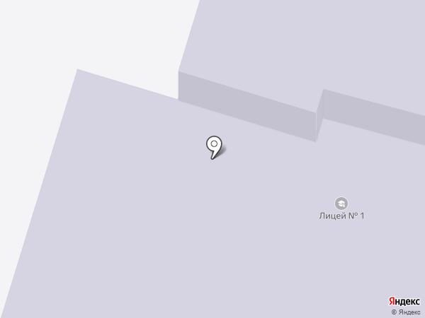 Лицей №1 на карте Нефтеюганска